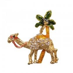 Magnet with rhinestones - Camel