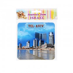 Stands for mugs with Israel views -City Tel Aviv.v set 2-pc.