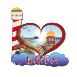 Magnet in the form of heart - Haifa