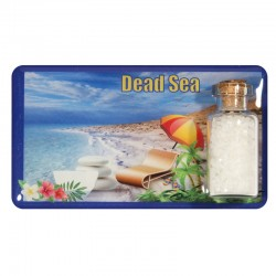 Magnet with a jar of salt from the dead sea - the Dead Sea