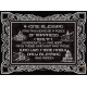 363638,Glass Painting Jerusalem Blessing of the House in English 30-45 cm