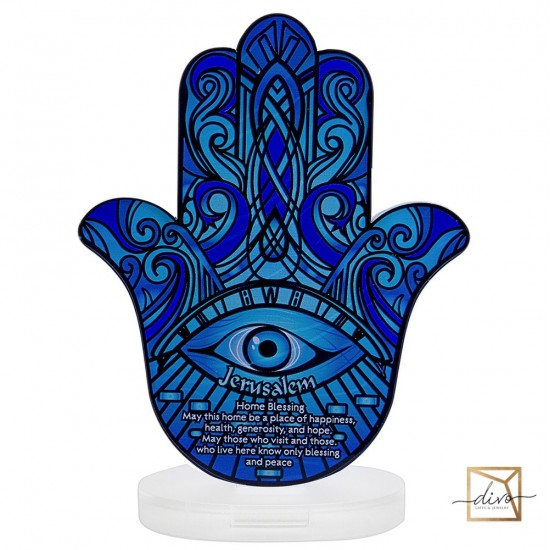 28333439,Hamsa on a stand 11.5-6-15 see Blessing the house