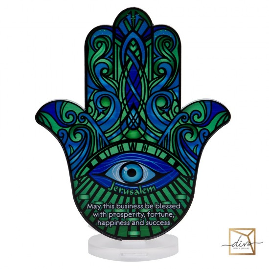 28333441,Hamsa on a stand.11.5-6-15cm Blessing of the House