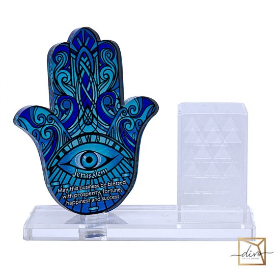 28333454,Hamsa office organizer. The blessing of business 17-6-15. 3 cm. Blue