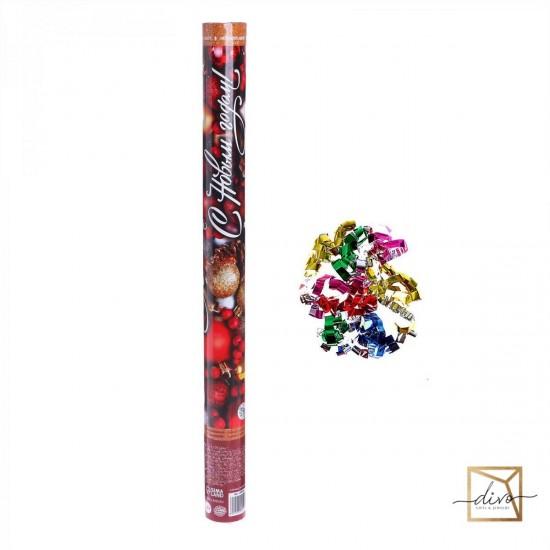 "Pneumatic cracker ""Happy New Year"" balls 60 cm"