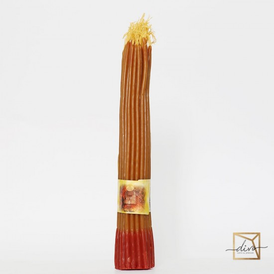 vosk-1,Jerusalem wax candle with honey 33 pieces