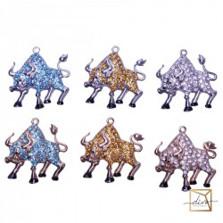 """The Magnet Is """"Be Happy!"""" Symbol Of The Year Bull"""