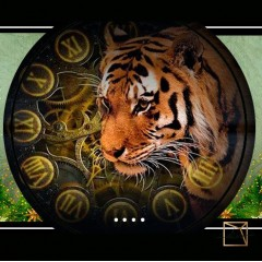 Symbol of the Year tiger