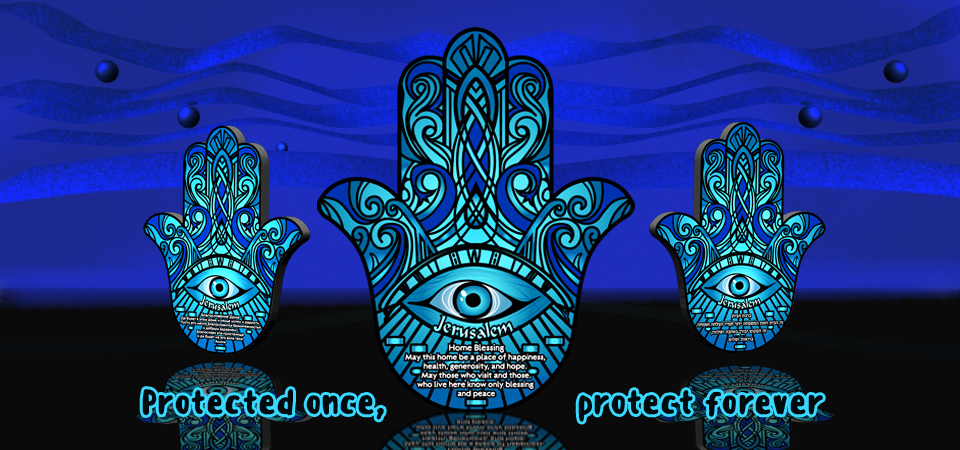 Protected once protected forever hamsa