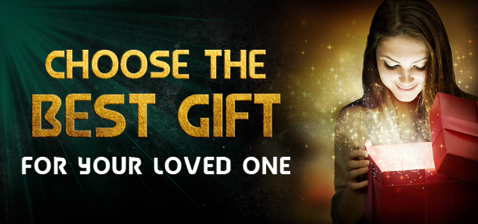 Choose the best gift for your friend