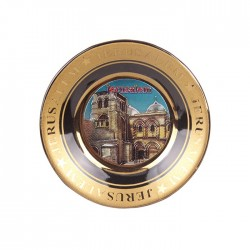 Plate magnet with the image of JerusalemPlate magnet with the image of Jerusalem