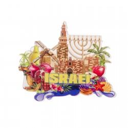 "Souvenir magnet ""Israel"""