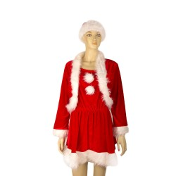 Christmas costume of 3 things for girls