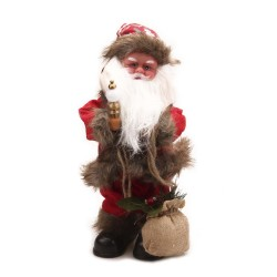 Christmas decoration toy Santa with lantern