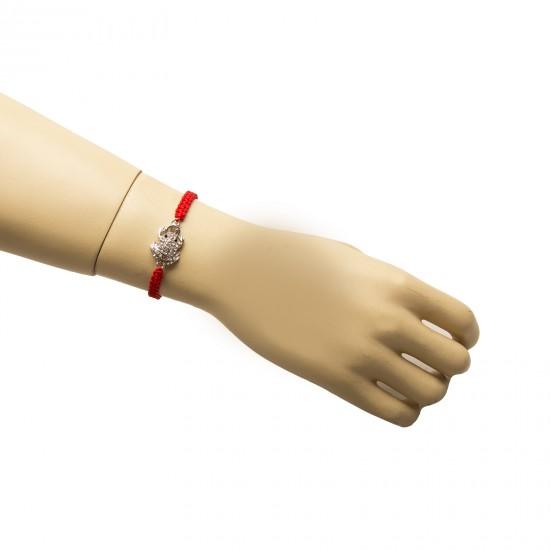 Beautiful bracelet on hand