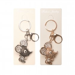 Keychains Christmas holiday mouse