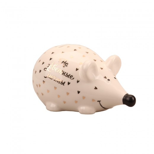 Money Bank white mouse in a star