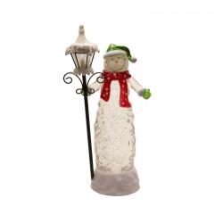 Souvenir glass snowman