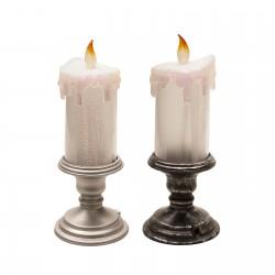 Souvenir candle holder black color