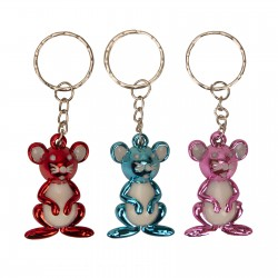 Key chains in the form of multi-colored mice