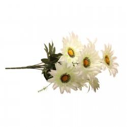 A wonderful bouquet of nine flowers daisies