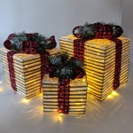 Gift set with LED lamp
