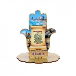 "Stand on the table ""in Russian Hamsa"" layered souvenir"