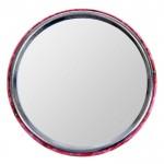 "Mirror in an envelope ""on my friend"", 6.9 cm in diameter"