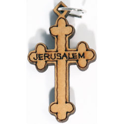 Christian cross, crucifixion, worn on the neck