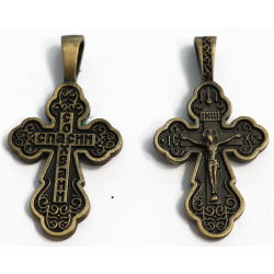 Christian cross worn on the neck