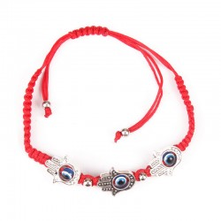 Hand bracelet with hanging-3 Hamsa