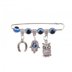 "Safety Pin ""From the Evil Eye"""