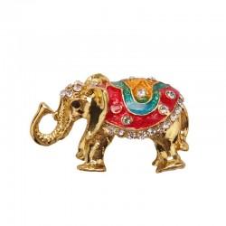 Magnet with rhinestones - Elephant