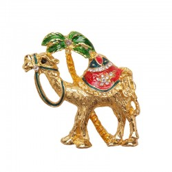 Magnet with rhinestones - Camel