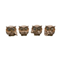 A set of owls, 4 pcs