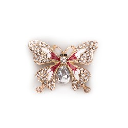 Magnet butterfly mix gold and silver