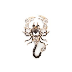 Magnet Scorpio, Mix Gold and Silver
