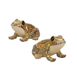 Souvenir frog sedentary, color mix
