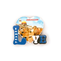Magnet view Israel - a unique souvenir with a bright design.