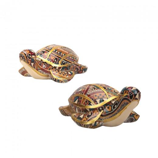 Souvenir turtle sit, color mix