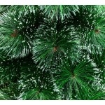 Cedar Green With Snow 150 cm, d Lower Tier 87 cm, d Needles 12 cm, 156 Branches, Metal Stand