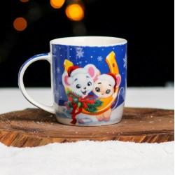 "Gift ceramic mug ""Luck"""