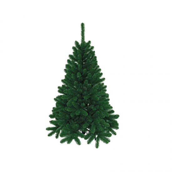 27336215,Artificial Christmas tree 180 cm, d Lower Tier 140 cm, d Needles 8 cm, 850 Branches, Metal Stand