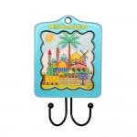 Pendant for the kitchen, key holder 16 * 9.5 cm, 2 hooks