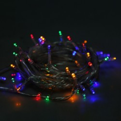 Garland with colored lights 240 bulbs
