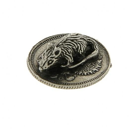 "Purse mouse. Souvenir ""Mouse on a coin"""