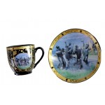 Souvenir coffee set Netanya