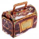 "Folding Box ""Treasure Chest"" with 3D surprise"