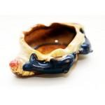 Decorative ashtray Dolphin