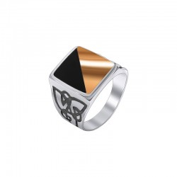 "Signet of silver with gold and onyx - ""Hetman"""